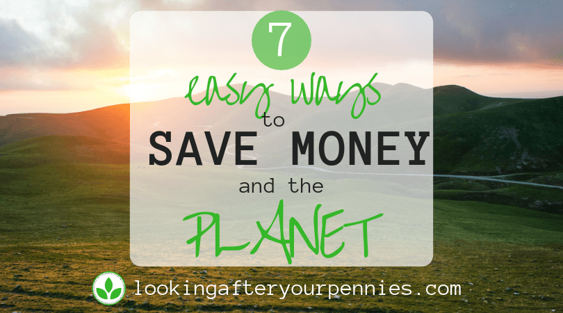 7 Easy Ways To Save Money And The Planet