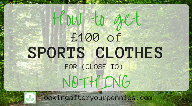 How To Get £100 Worth Of Sports Clothes For (Close To) Nothing
