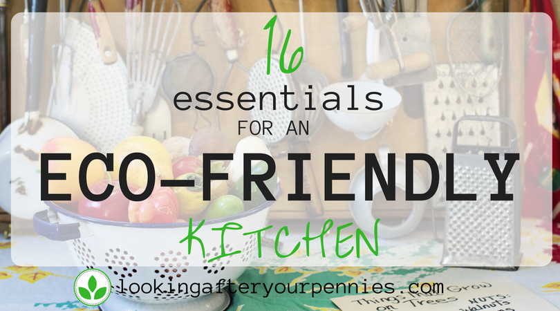 16 Essentials For An Eco-Friendly Kitchen