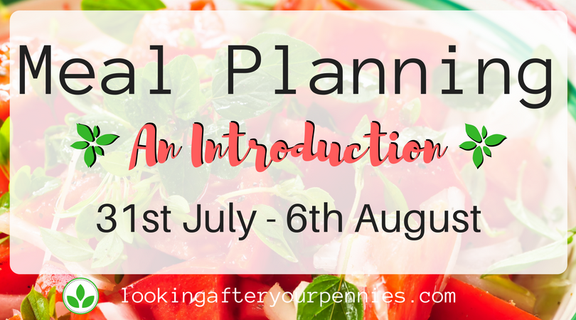 Meal Planning: An Introduction