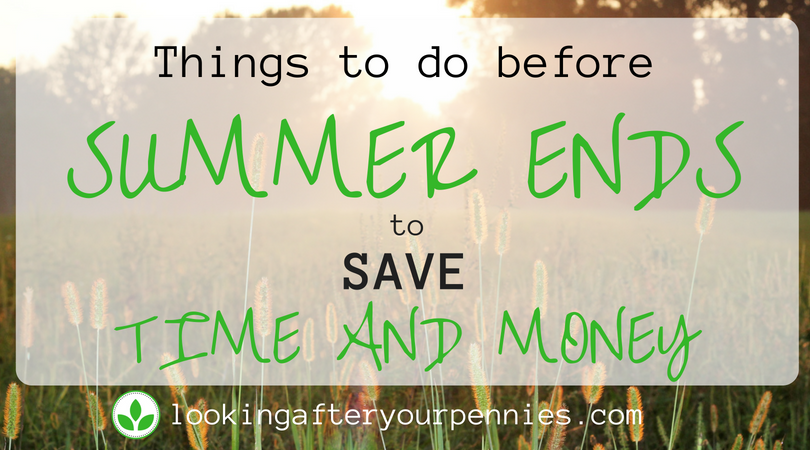 Things To Do Before Summer Ends To Save Time And Money
