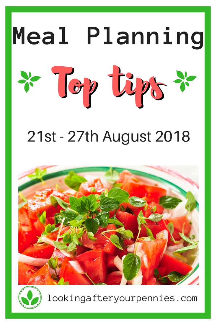 This week I break from my usual routine to give you my meal planning top tips. Here are 9 ways to make meal planning easier and reduce your money and food waste. #mealplanning #frugal #ecofriendly #lookingafteryourpennies