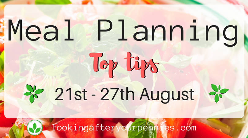 Meal Planning: Top Tips