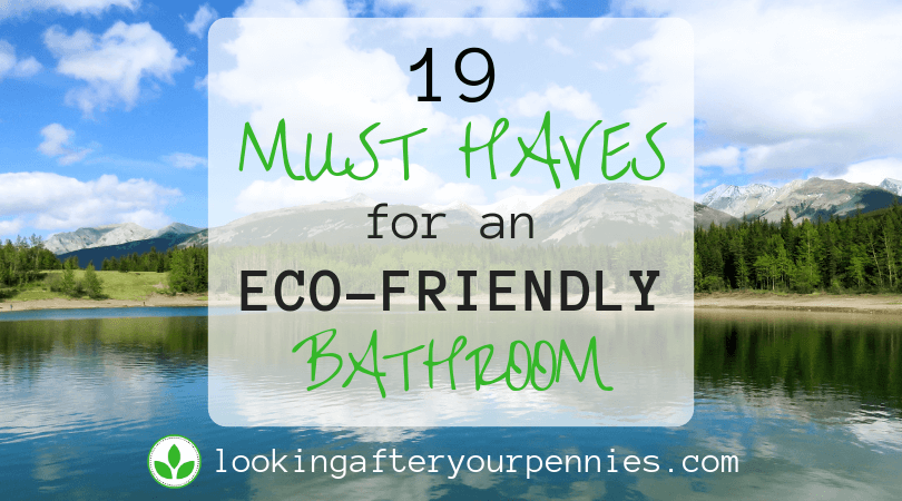 19 Must Haves For An Eco-Friendly Bathroom