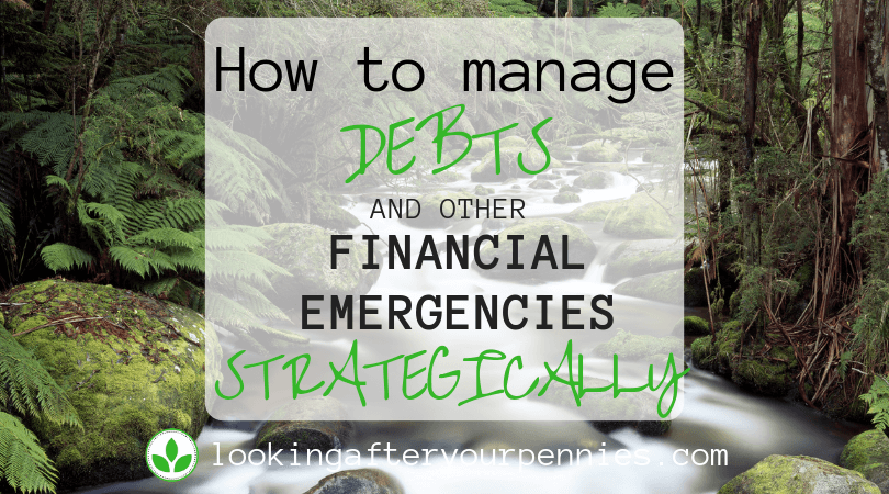 How To Manage Debts And Other Financial Emergencies Strategically