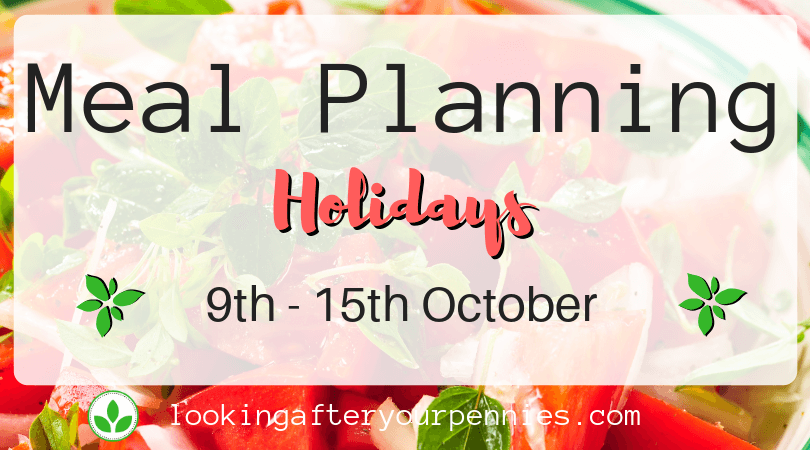 Meal Planning: Holidays