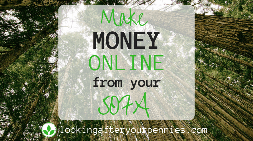 Make Money Online From Your Sofa