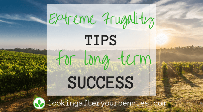 Extreme Frugality Tips For Long Term Success