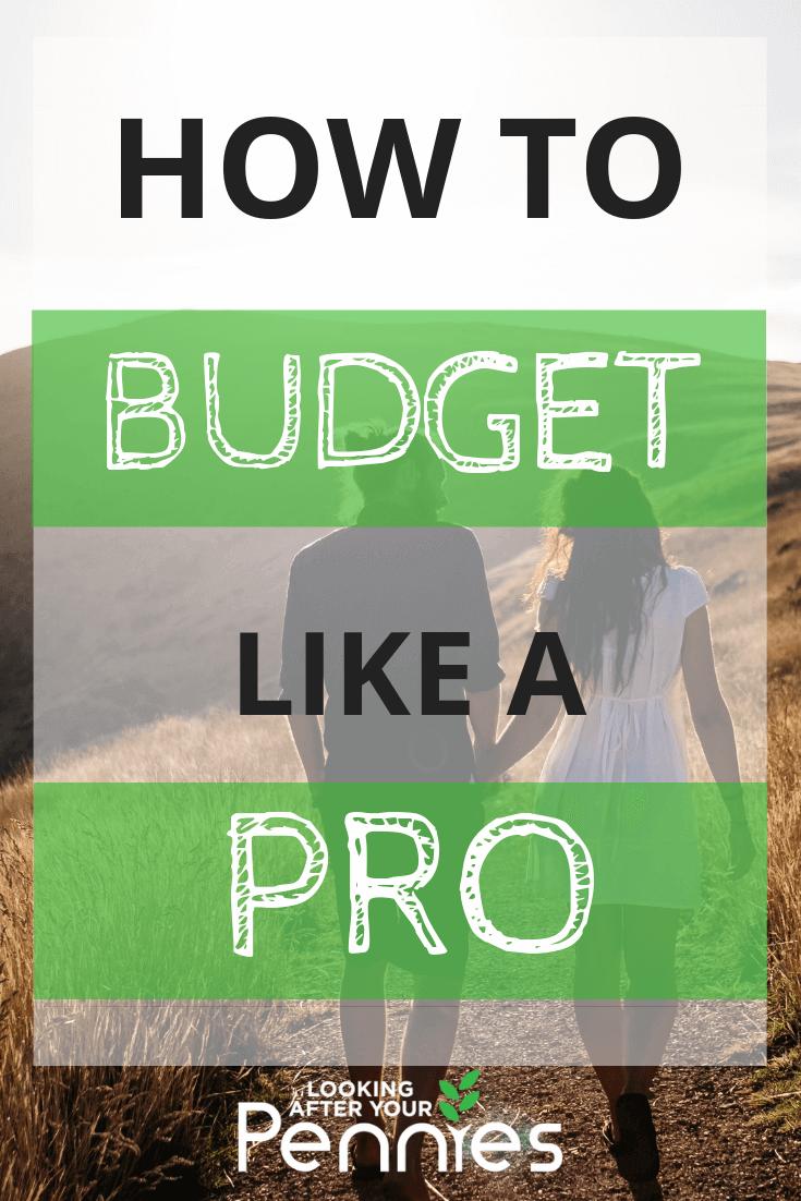 how to budget like a pro
