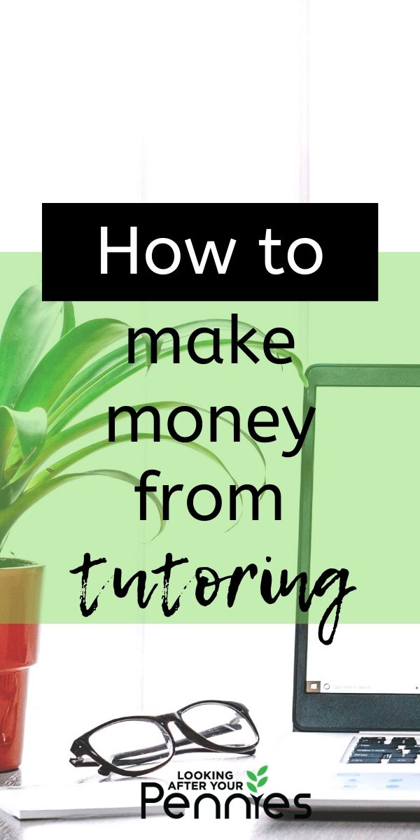 make money from tutoring