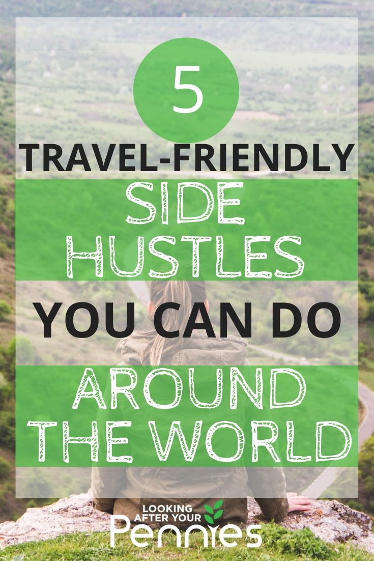 travel-friendly side hustles